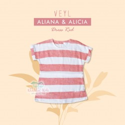 Veyl Kids - Alicia Dress Red