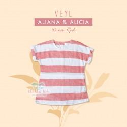 Veyl Kids - Alicia Dress Red