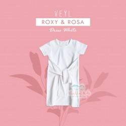 Veyl - Rosa Dress - White