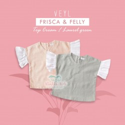 Veyl - Frisca Top - Laurel Green