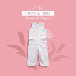 Veyl - Hilda Jumpsuit - Stripes