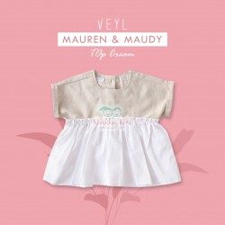 Veyl - Mauren Top - Cream