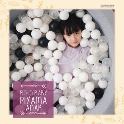 Bohobaby - Piyama Anak  - Lavender