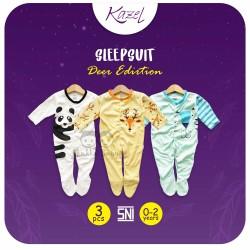 Kazel - Sleepsuit (3 set/pack) -  Deer Edition