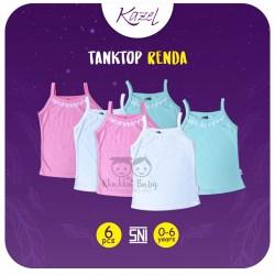 Kazel - Tanktop Renda (6 pcs/pack)