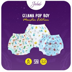 Jobel - Celana Pop Boy (6 pcs/pack) - Monster Edition