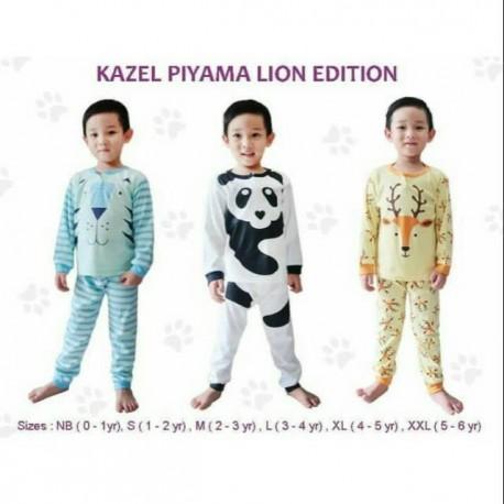 Kazel - Piyama (3 set/pack) -  Boy Lion Edition