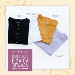 Bohobaby - Piyama Dewasa  - Golden