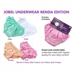 Jobel - Girl's Underwear (4 pcs/pack) - Renda Edition