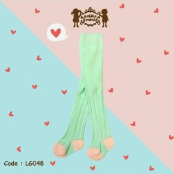 Petite Mimi - Baby Legging - Knit Light Green (LG048/LG049)