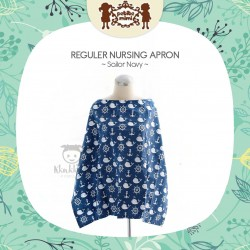 Petite Mimi - Reguler Nursing Apron - Sailor Navy