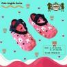 Petite Mimi - Cute Ankle Socks - Biru Hati