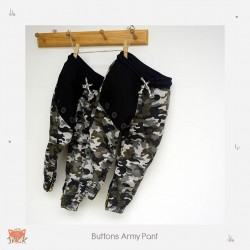 Little Jack - Buttons Army Pants