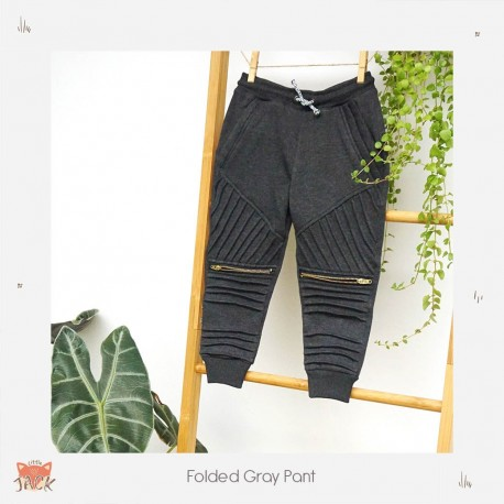Little Jack - Folded Gray Pants