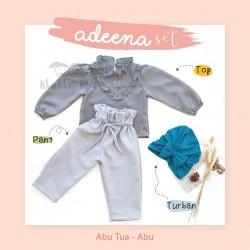 Adeena Set ( Top + Pant + Turban) Abu Tua - Abu