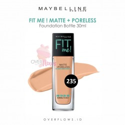 Maybelline - Fit Me Matte + Poreless Foundation Bottle 30ML - 235(Pure Beige)