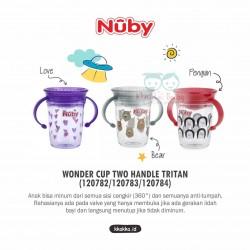 Nuby - Wonder Cup Two Handle Tritan (120782/120783/120784)