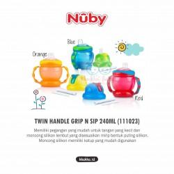 Nuby - Twin Handle Grip n Sip 240ml (111023)
