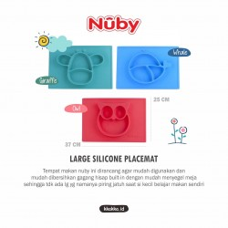 Nuby - Large Silicone Placemat Aqua - Giraffe (120926)