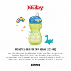 Nuby - Monster Gripper Cup 330ml (103498)
