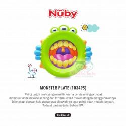 Nuby - Monster Plate (103495)