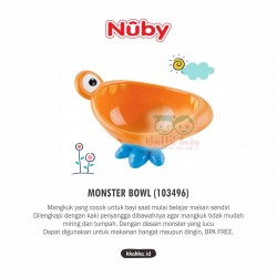 Nuby - Monster Bowl (103496)
