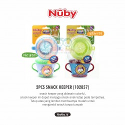 Nuby - 2Pcs Snack Keeper (102857)