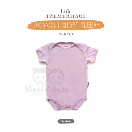 Little Palmerhaus - Baby Bodysuit Short Sleeve (Jumper) - Purple