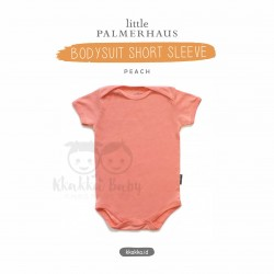 Little Palmerhaus - Baby Bodysuit Short Sleeve (Jumper) - Peach