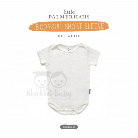 Little Palmerhaus - Baby Bodysuit Short Sleeve (Jumper) - Off White