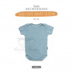 Little Palmerhaus - Baby Bodysuit Short Sleeve (Jumper) - Blue