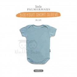 Little Palmerhaus - Baby Bodysuit Short Sleeve (Jumper) - Blue