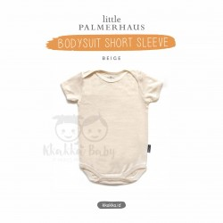 Little Palmerhaus - Baby Bodysuit Short Sleeve (Jumper) - Beige