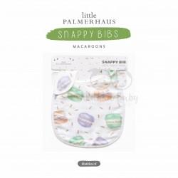 Little Palmerhaus - Snappy Bibs - Macaroons
