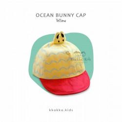 Ocean Bunny Cap