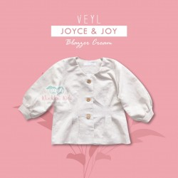 Veyl Women - Joyce Blazer - Cream