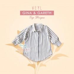 Veyl - Gareth Top - Sripes