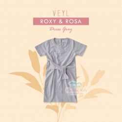 Veyl Kids - Rosa Dress - Grey