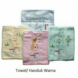 Libby - Handuk Cotton Warna 105 x 50 cm