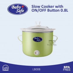 Baby Safe - Slow Cooker with ON/OFF Button 0.8L - LB008