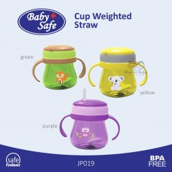 Baby Safe - Cup Weighted Straw - JP019