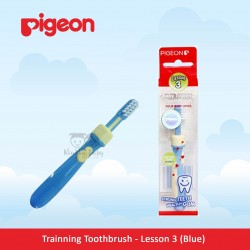 Pigeon - Trainning Toothbrush - Lesson 3 (Blue)