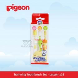 Pigeon - Trainning Toothbrush Set - Lesson 123